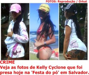 Kelly Cyclone, a traficante baiana morre assassinada em Salvador. E agora, Bocão?