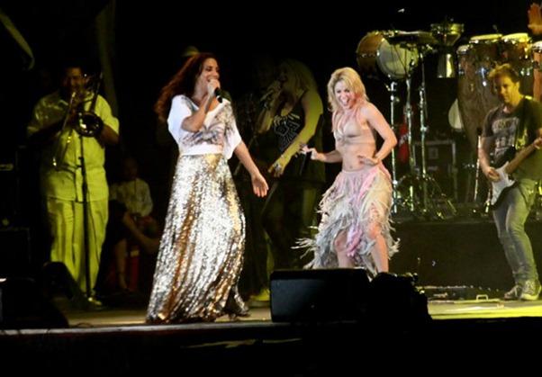 Ivete e Shakira
