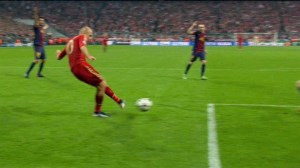 Gol de Robben do bayern